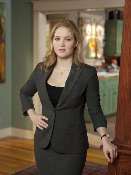 Erika Christensen è Julia Braverman-Graham in una foto promozionale serie Parenthood