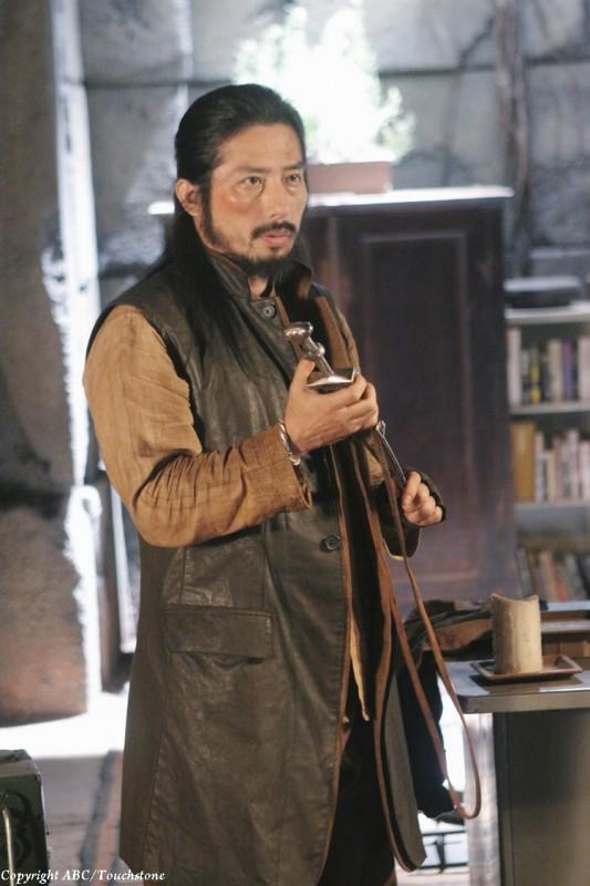 Hiroyuki Sanada nell'episodio Sundown di Lost