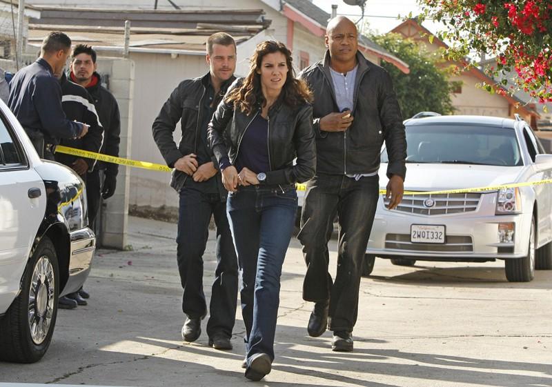 I ragazzi di Hetty: Chris O'Donnell, LL Cool J e Daniela Ruah nell'episodio Missing di N.C.I.S.: Los Angeles