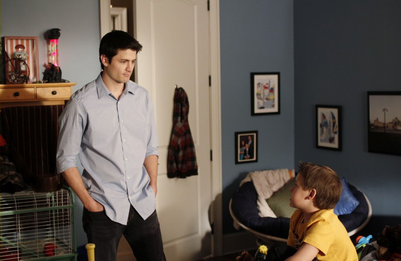 James Lafferty e Jackson Brundage nell'episodio At The Bottom Of Everything di One Tree Hill