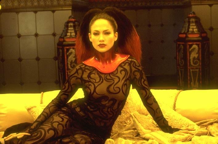 Jennifer Lopez in una scena del film The Cell - La Cellula