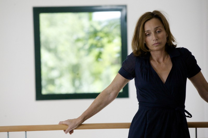 Kristin Scott Thomas in un'immagine del film L'amante inglese