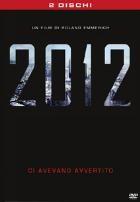 La copertina di 2012 - Edizione speciale (dvd)