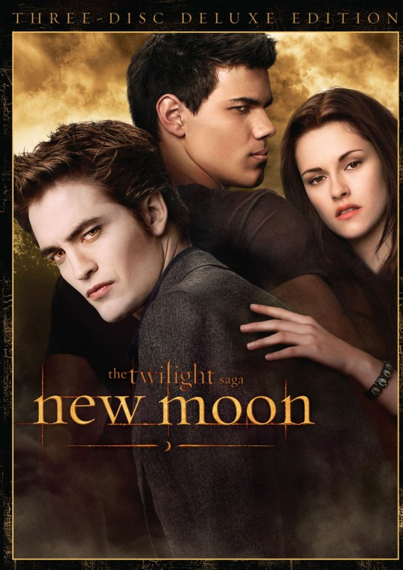 La copertina di New Moon - The Twilight Saga - Deluxe Edition (dvd)