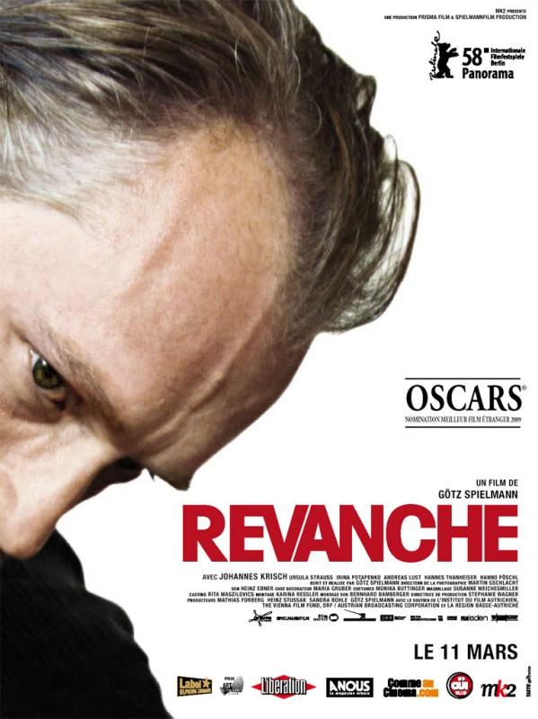 La locandina francese di Revanche