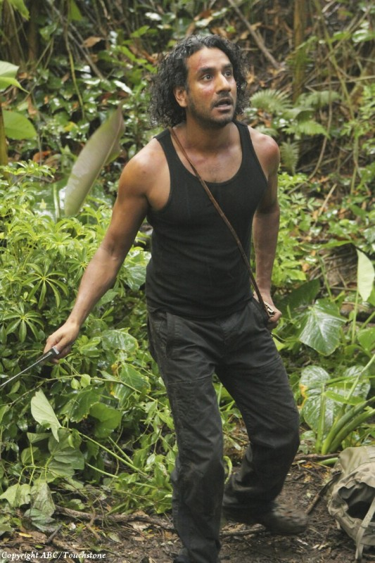 Naveen Andrews nell'episodio Sundown di Lost
