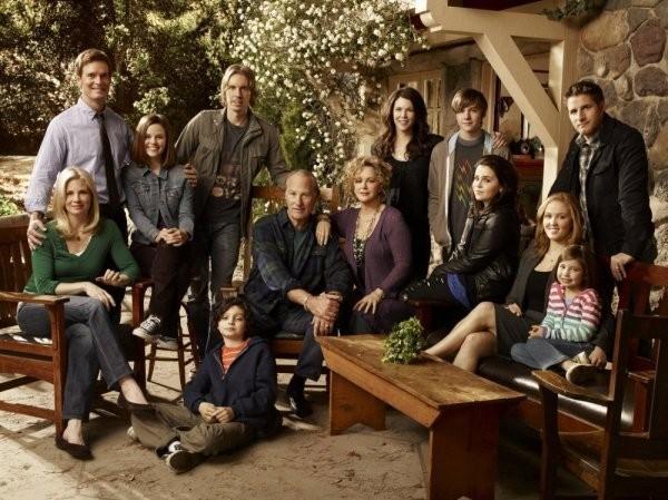 Parenthood: una foto promozionale del cast della serie