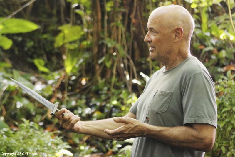 Terry O'Quinn nell'episodio Sundown di Lost