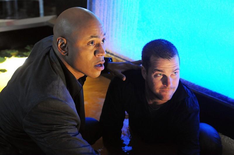 Una sequenza con i protagonisti: Chris O'Donnell e LL Cool J dell'episodio LD50 di NCIS: Los Angeles