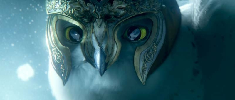 Ancora una foto del lungometraggio animato Legend of the Guardians
