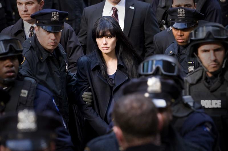 Angelina Jolie è Evelyn nel film Salt