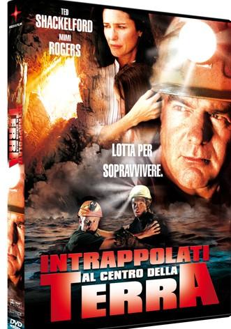 La copertina di Intrappolati al centro della terra (dvd)