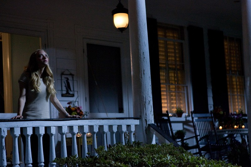 Una sequenza notturna del film Dear John con Amanda Seyfried