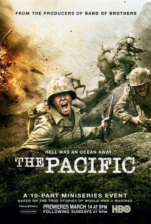 uno dei poster della miniserie the pacific 148592