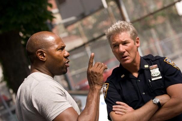 Antoine Fuqua e Richard Gere sul set del film Brooklyn's Finest