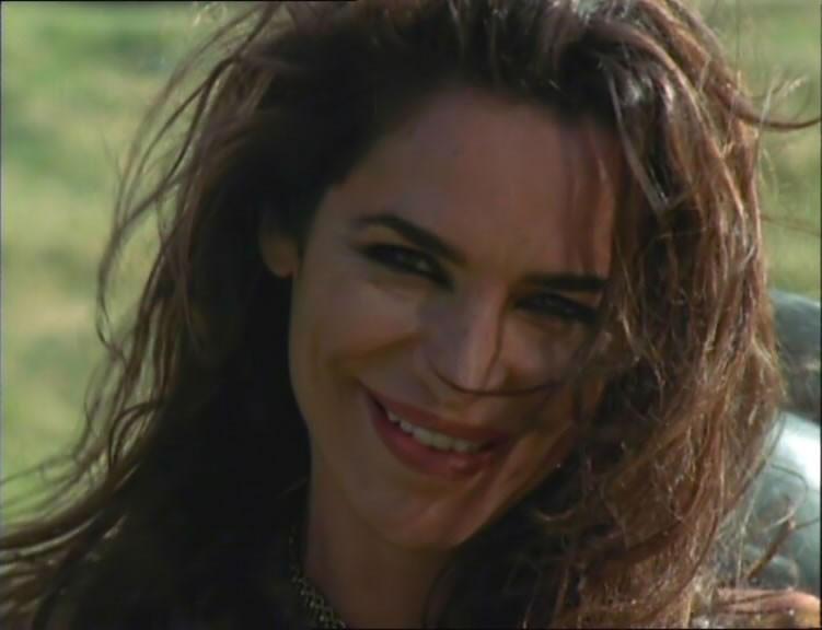 """Claire Stansfield in una scena del telefilm \""""Xena\"""" nell\'episodio \""""When fates collide\"""""""