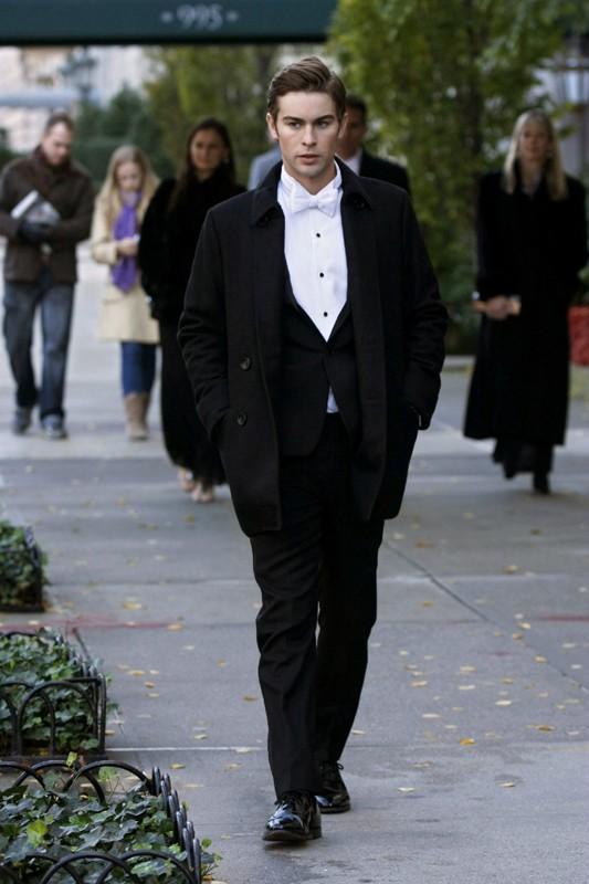 L'affascinante Chace Crawford in un momento dell'episodio The Hurt Locket di Gossip Girl