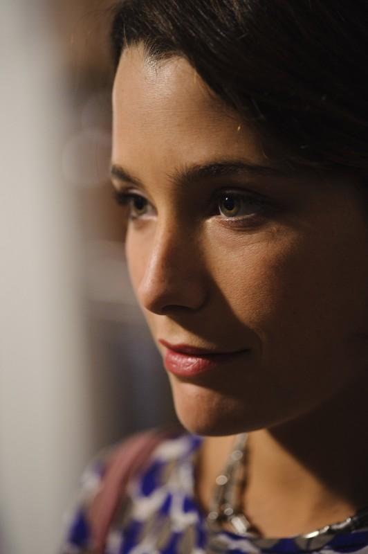 Martina Codecasa in un primo piano tratto dal film Sul mare