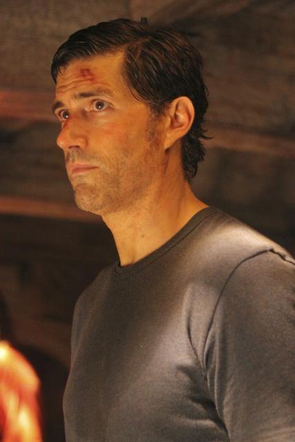 Matthew Fox nell'episodio Dr. Linus di Lost