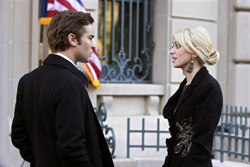 Nate (Chace Crawford) parla con Jenny (Taylor Momsen) in un momento dell'episodio The Hurt Locket di Gossip Girl