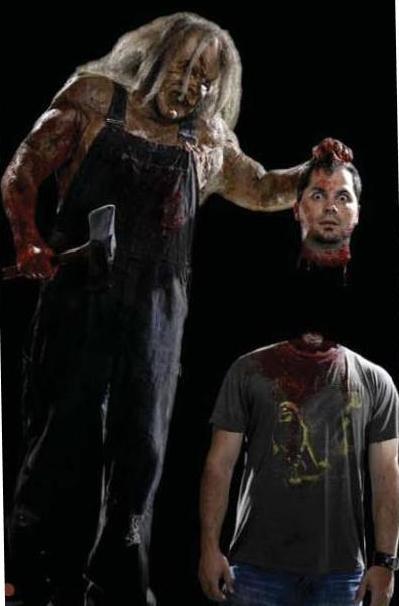 Un'immagine promozionale del film Hatchet