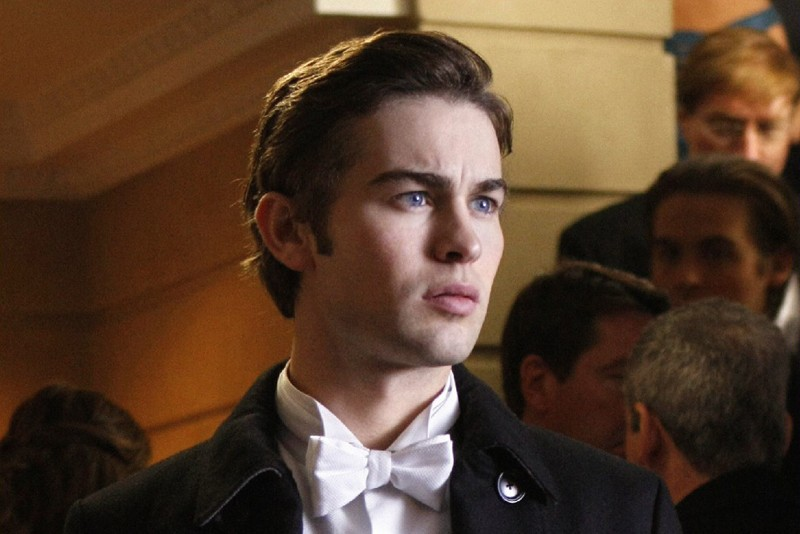 Un primo piano di Chace Crawford nell'episodio The Hurt Locket di Gossip Girl