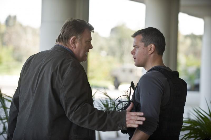 Brendan Gleeson e Matt Damon in una scena di The Green Zone