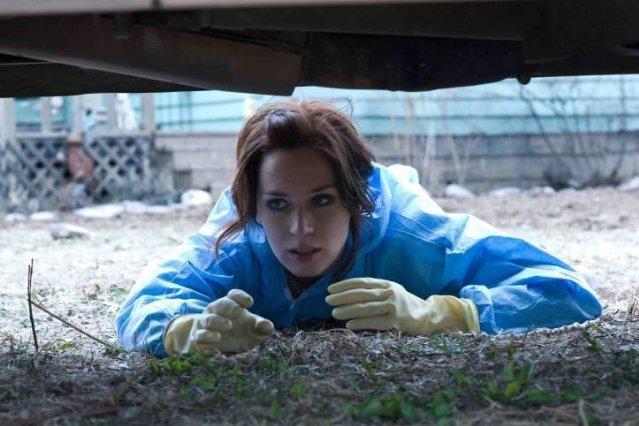 Emily Blunt è Norah Lorkowski nel film Sunshine Cleaning