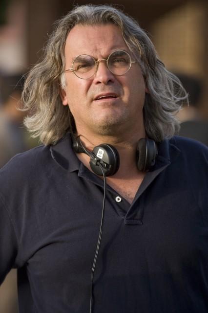 Il regista Paul Greengrass sul set del film Green Zone