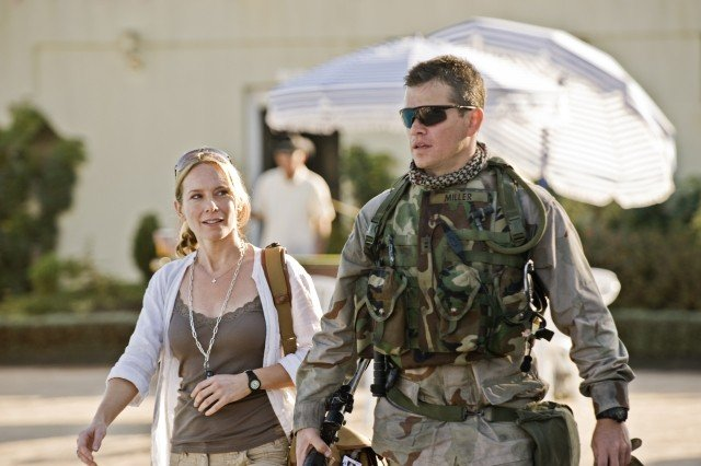 Matt Damon e Amy Ryan in una scena di The Green Zone