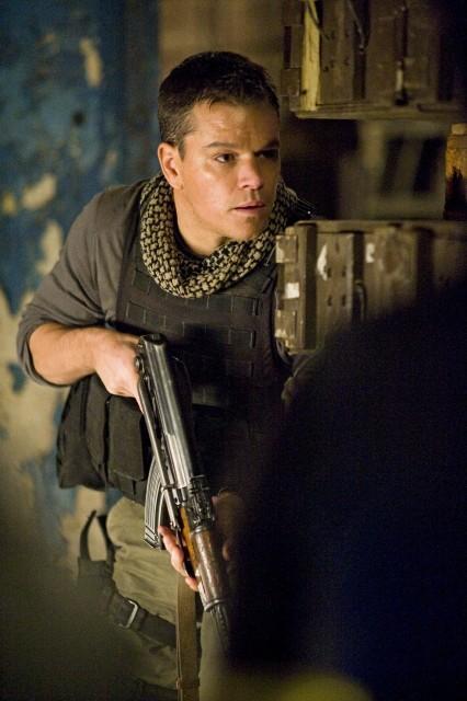 Matt Damon in azione nel film Green Zone