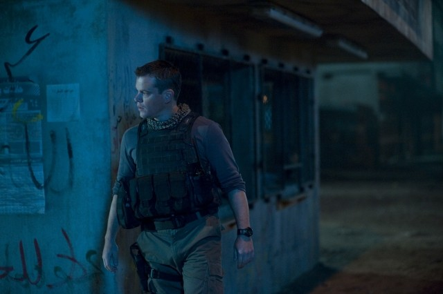 Matt Damon nel film Green Zone