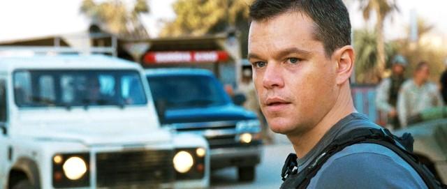 Primo piano di Matt Damon dall'action movie Green Zone