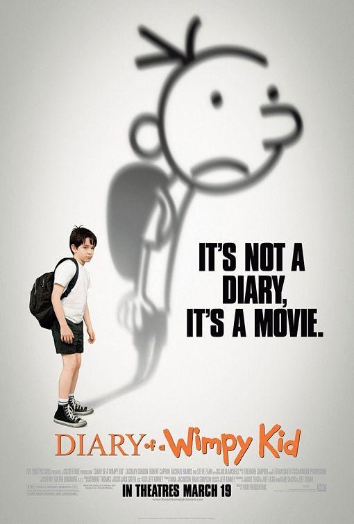 Il poster di Diary of a Wimpy Kid