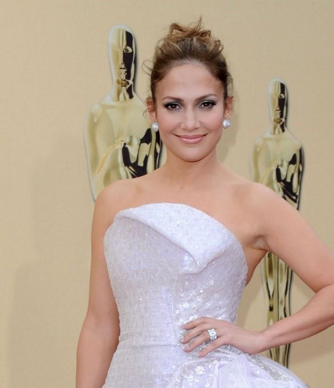 Jennifer Lopez sul Red Carpet degli Oscar 2010