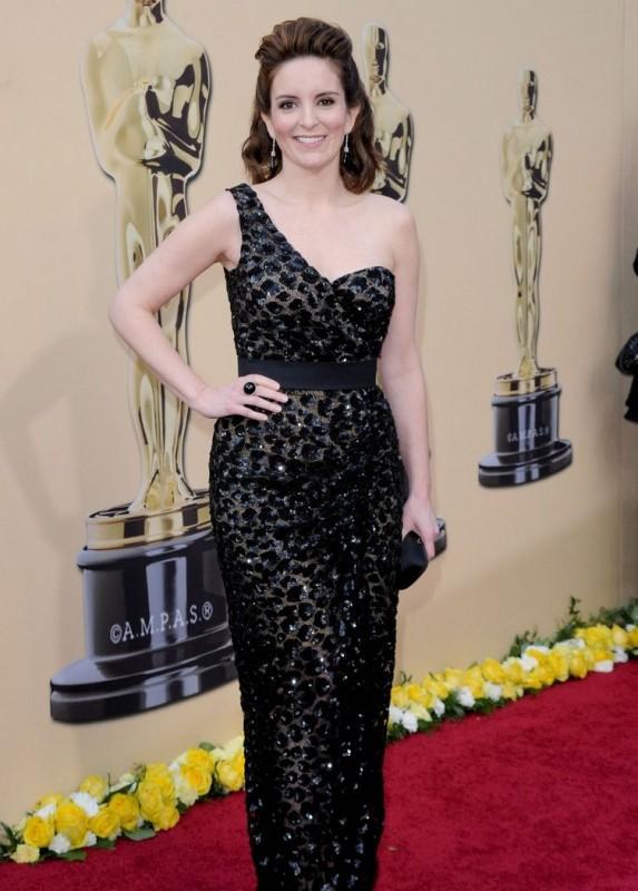 Tina Fey sul Red Carpet degli Oscar 2010