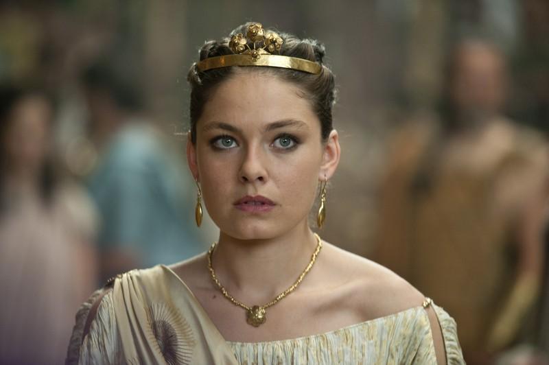 Alexa Davalos nel ruolo di Andromeda nel film Clash of the Titans