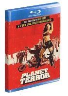 La copertina di Planet Terror (blu-ray)