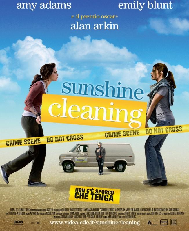 Locandina italiana di Sunshine Cleaning