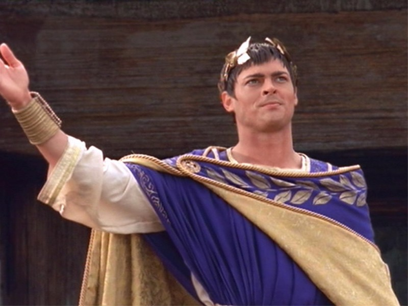 Karl Urban in una scena di Xena nell\'episodio When in Rome
