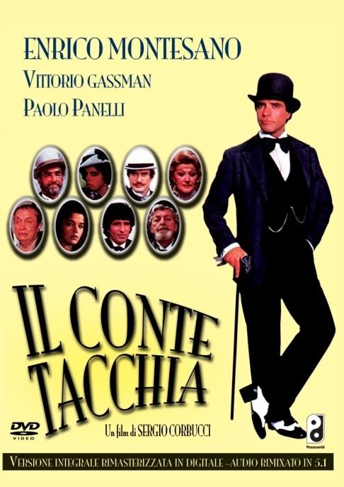 La copertina di Il conte Tacchia (dvd)