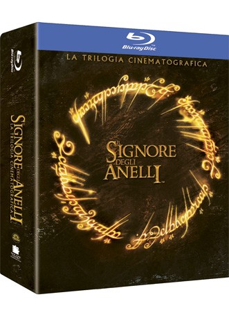 La copertina di Il signore degli anelli - Trilogia cinematografica (blu-ray)