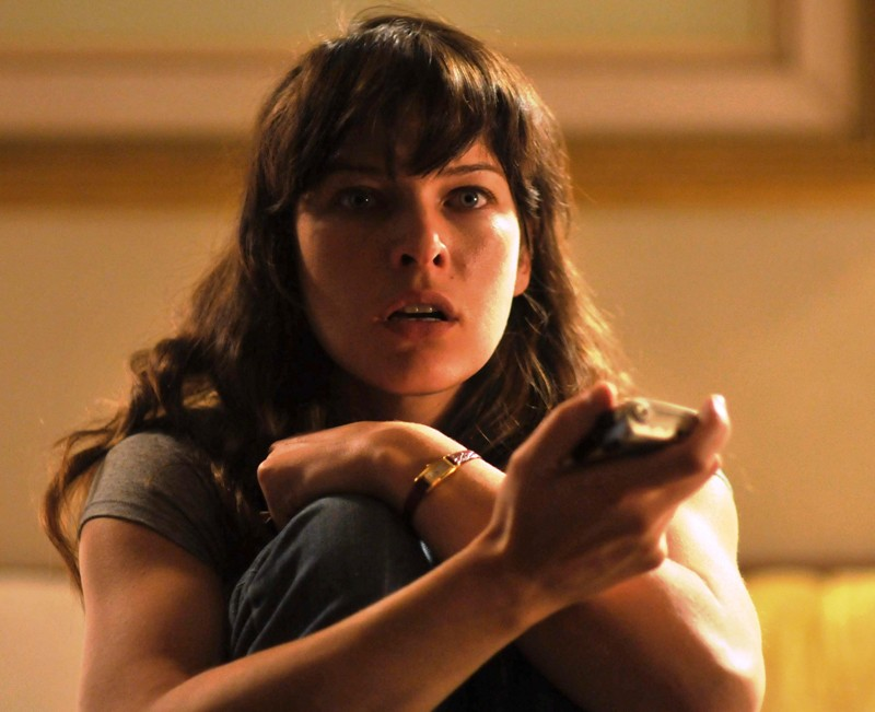 Milla Jovovich in una sequenza del thriller sci-fi The Fourth Kind (2009)