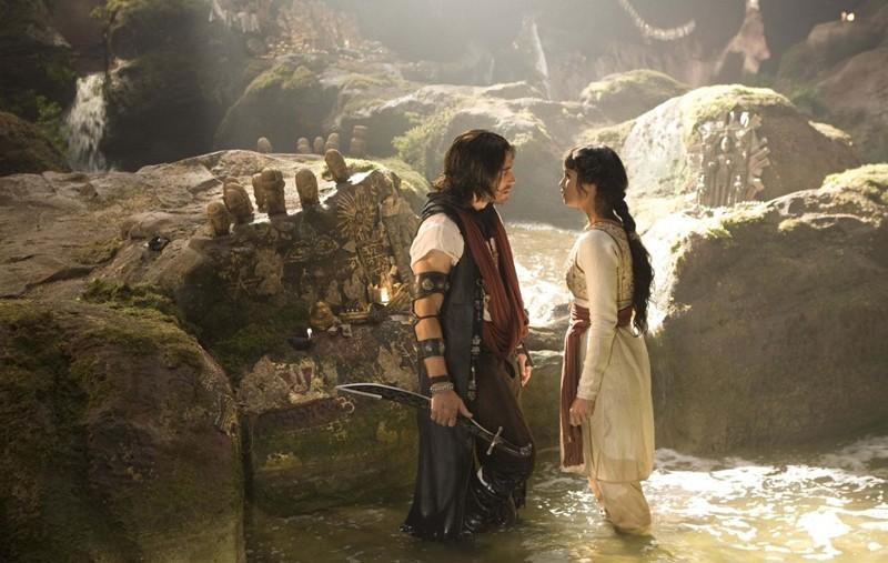 Una scena del film Prince of Persia: Le Sabbie del Tempo con Jake Gyllenhaal e Gemma Arterton