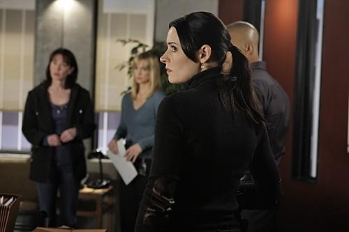 Criminal Minds: Paget Brewster in una scena dell'episodio Mosley Lane