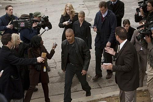Criminal Minds:una scena dell'episodio Public Enemy