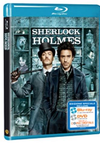 La copertina di Sherlock Holmes (blu-ray)