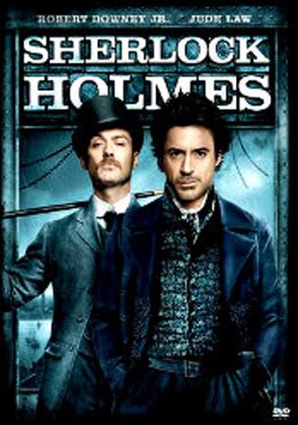 La copertina di Sherlock Holmes (dvd)