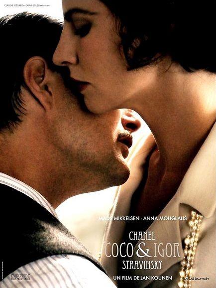 La locandina di Coco Chanel & Igor Stravinsky