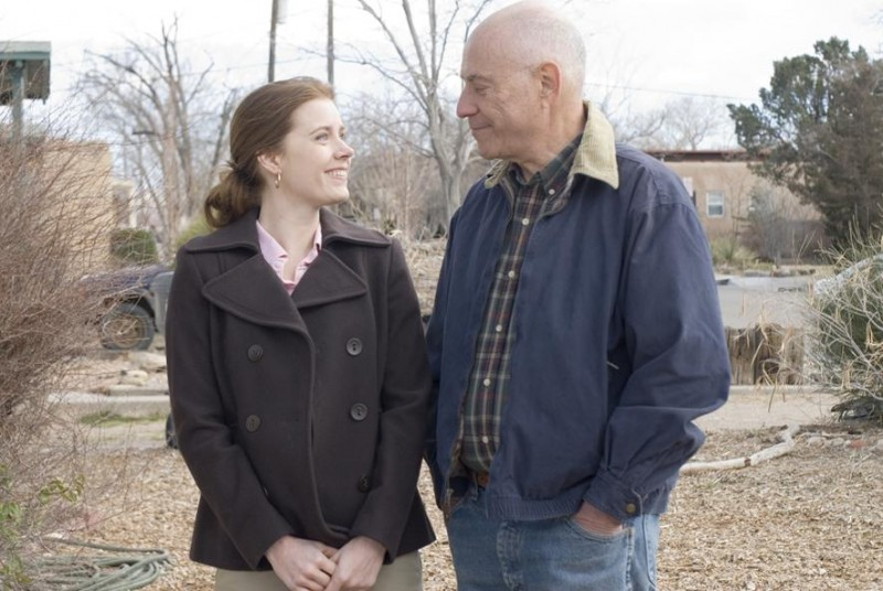 Amy Adams e Alan Arkin in un'immagine del film Sunshine Cleaning